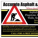 Accurate Asphalt And Construction Logo