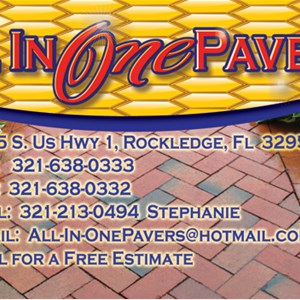 All In One Pavers Logo