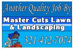 Master Cuts Lawn & Landscaping LLC Logo
