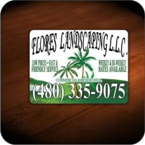 Flores Landscaping llc Logo