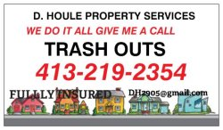 David A Houle Removal Services Logo