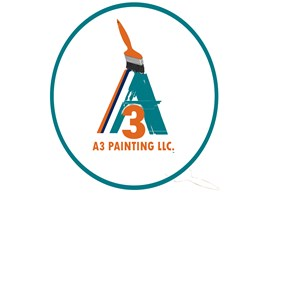 A3 Painting LLC. Logo