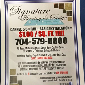 Signature Flooring & Design, Inc Logo