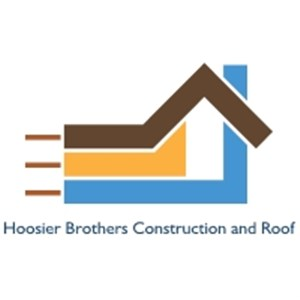 Hoosier Brothers Construction and Roof Logo