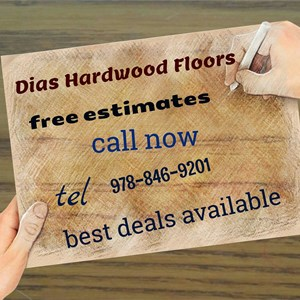 Dias Hardwood Floors Logo