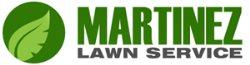 Martinez Lawn Service Logo