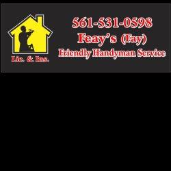 Bon Feayu0027s Friendly Handyman Service Inc. Palm Beach Gardens ...
