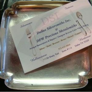 Dallas Silversmiths aka Dallas Metalsmiths Logo