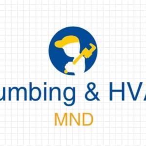 Mnd Plumbing Logo