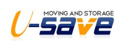 U-save Moving Logo