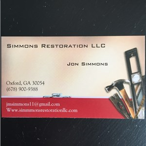 Simmons Restoration Cover Photo