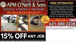Apm Oneill & sons Logo