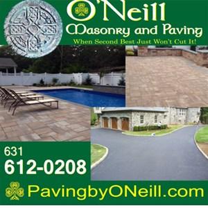 Oneills Masonry & Paving Logo