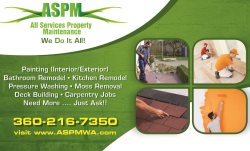 All Services Property Maintenance Logo