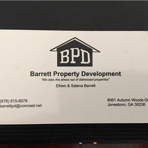 Barrett Property Development Logo