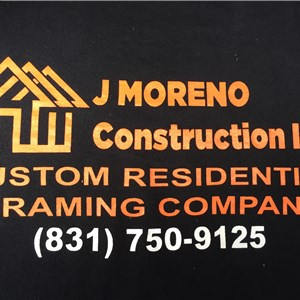 J Moreno Construction inc Logo