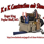 K n K Construction and Stone Works Logo