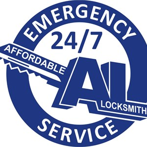 Affordable Locksmith & Security System Logo
