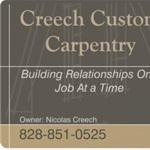 Creech Custom Carpentry Logo