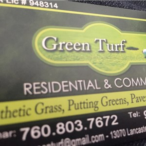 Green Turf Cover Photo
