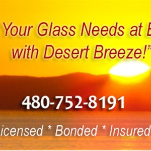 Desert Breeze Glass LLC Logo