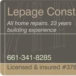 Lepage Construction Logo
