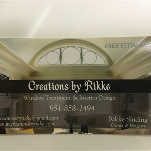 Creations By Rikke Logo