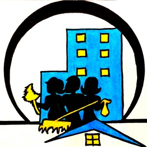 The Ultimate Cleaning Crew Logo
