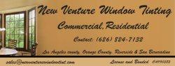 New Venture Window Tinting Logo