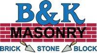 B & K Masonry Logo
