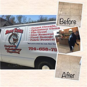 Bigg Time Carpet & Upholstery Cleaning Logo