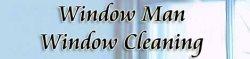 Window Man Window Cleaning Logo