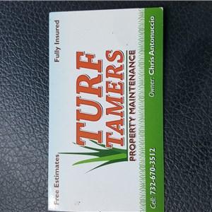 Turf Tamers Logo