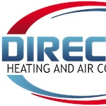 Direct Buy Heating and Air Conditioning Logo