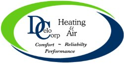 Delo Corp Heating & Air Logo