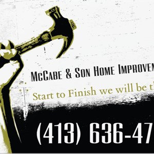 Mccabe & Son Home Improvement Logo