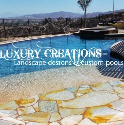 Luxury Creations Pools and Landscape Logo