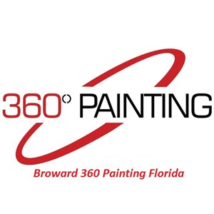360 Painting of Broward Logo