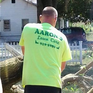 Aarons Landscape and Snow Removal Logo