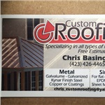 Custom Roofing Logo