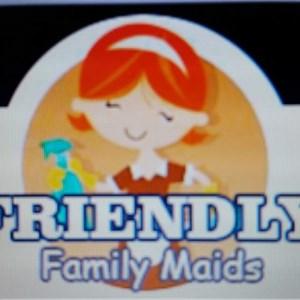 Friendly Family Maid Service Logo