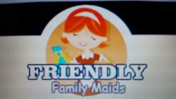 Friendly Family Maid Service Logo