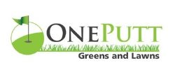 One Putt Greens and Lawns Logo