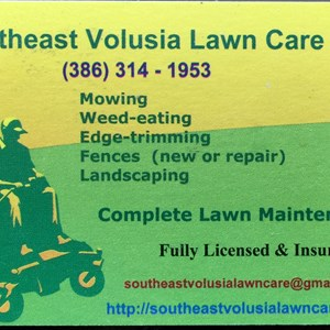 Southeast Volusia Lawn Care Logo