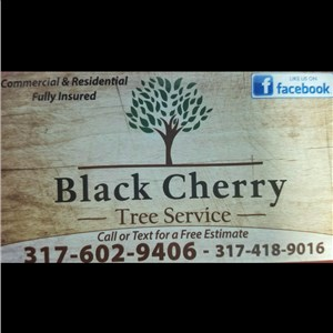 Black Cherry Tree Service Logo