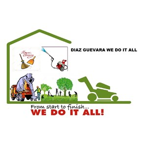 DG We Do It All Logo