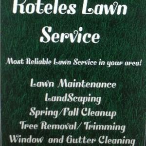 Koteles Lawn Service Logo