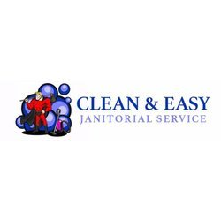 Clean & Easy Janitorial Logo