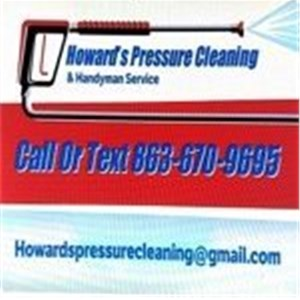 Howards Pressure Cleaning Logo