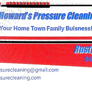 Howards Pressure Cleaning Logo